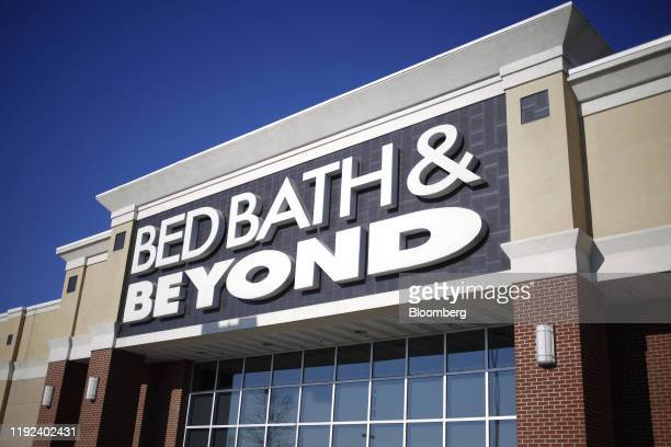 Signage is displayed outside a Bed Bath & Beyond Inc. Store in Clarksville, Indiana, U.S., on Sunday, Jan. 5, 2020. Bed Bath & Beyond Inc. Is...