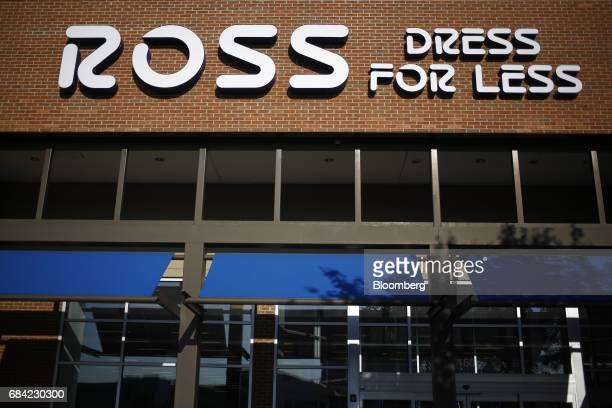 Signage is displayed outside a Ross Stores Inc. Location in Louisville, Kentucky, U.S., on Monday, May 15, 2017. Ross Stores Inc. Is scheduled to...