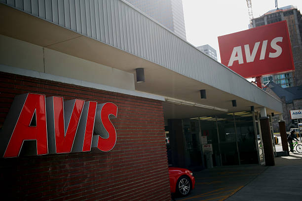 avis budget group inc locations ahead of earnings figures photos and images getty images. Black Bedroom Furniture Sets. Home Design Ideas