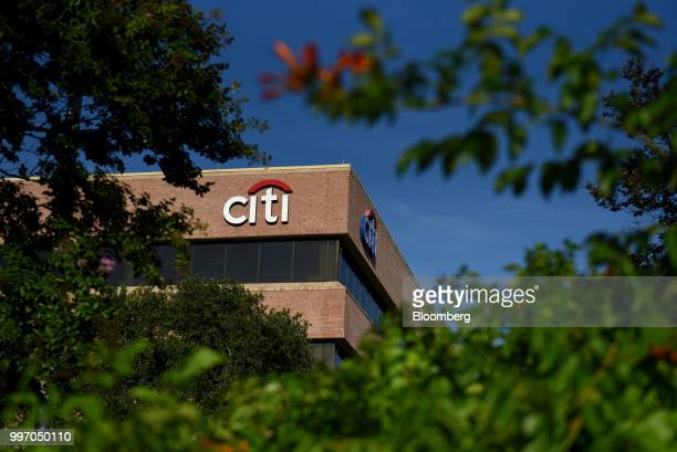 Signage is displayed outside the Citibank Operations Center in San Antonio Texas US on Wednesday July 11 2018 Citigroup Inc is scheduled to release...