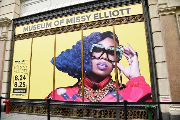 NY: MTV VMAs & Pepsi Celebrate The Museum Of Missy Elliott