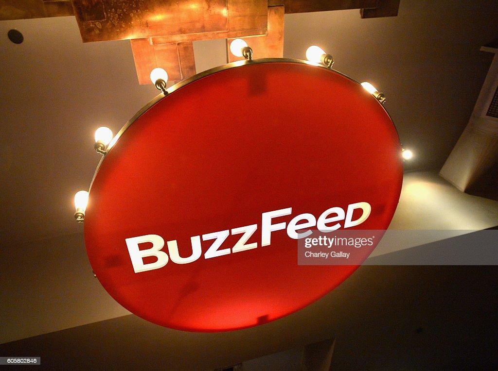 BuzzFeed Presents The Buzzies : News Photo