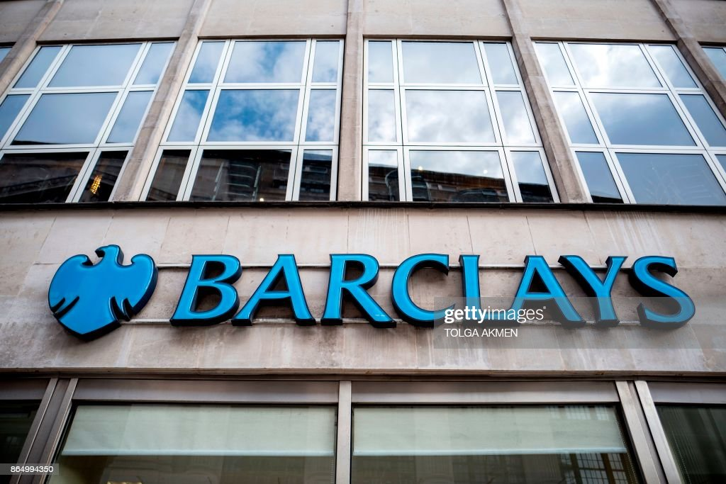 BRITAIN-BANKING-ECONOMY-FINANCE-COMPANY-BARCLAYS : News Photo