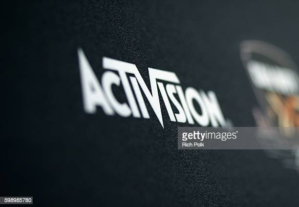 Signage is seen at The Ultimate Fan Experience, Call Of Duty XP 2016, presented by Activision, at The Forum on September 3, 2016 in Inglewood,...