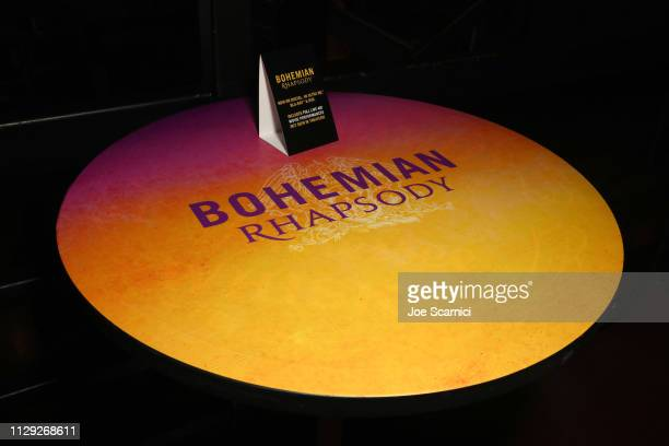 Signage is seen during Bohemian Rhapsody's Get Loud Extravaganza at Whiskey a Go Go on February 12 2019 in Los Angeles California