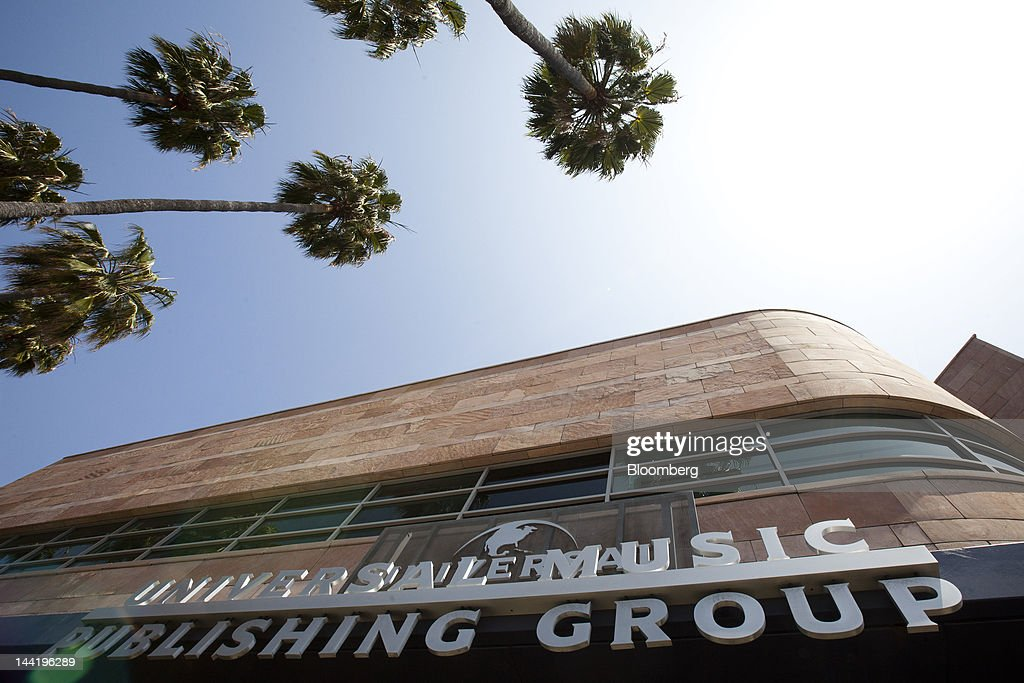 Signage of Universal Music Publishing Group, a subsidiary of Vivendi