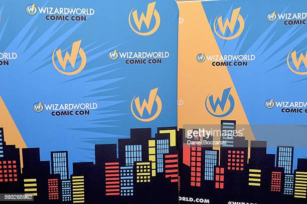Signage on display at Wizard World Comic Con Chicago 2016 Day 4 at Donald E Stephens Convention Center on August 21 2016 in Rosemont Illinois