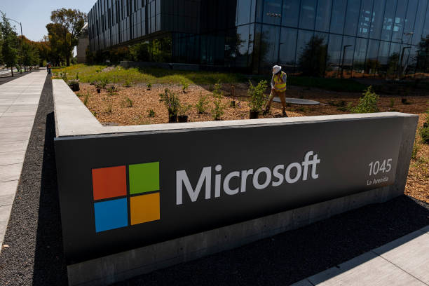CA: A Microsoft Campus Ahead Of Earnings Figures