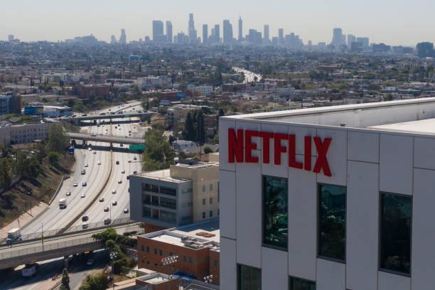CA: Netflix Headquarters Ahead Of Earnings Figures