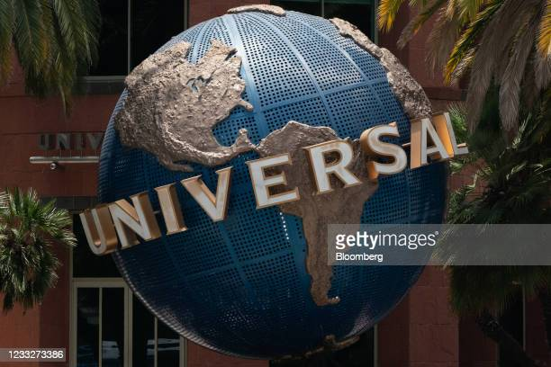 Signage outside Universal Music Group headquarters in Santa Monica, California, U.S. On Friday. June 4, 2021. A blank-check company backed by...