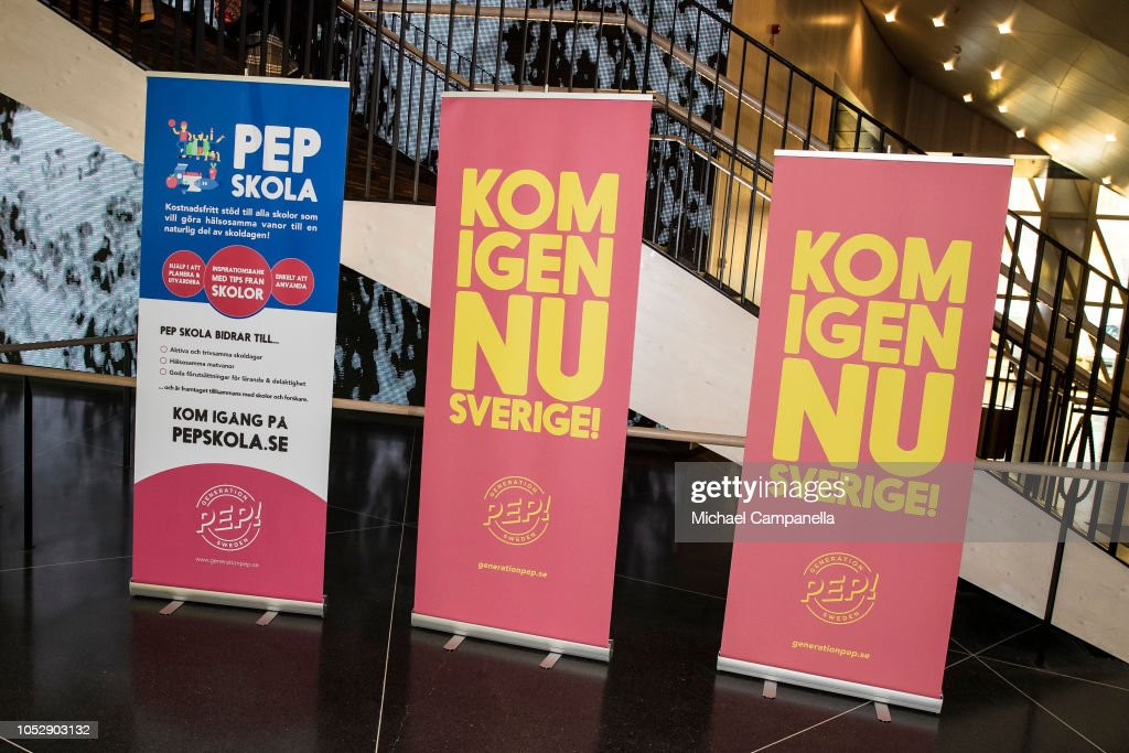 CASA REAL DE SUECIA - Página 62 Signage-seen-at-the-generation-pep-pep-forum-2018-at-the-karolinska-picture-id1052903132
