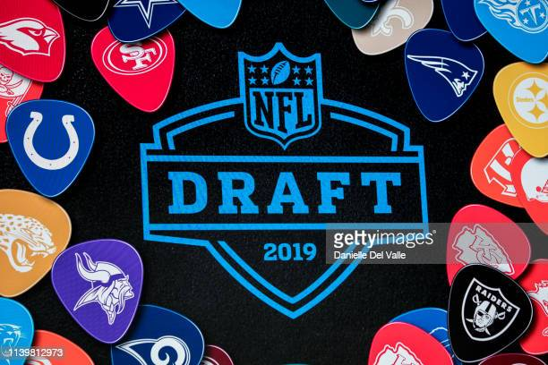 Signage seen during the NFL Draft Experience on April 27 2019 in Nashville Tennessee