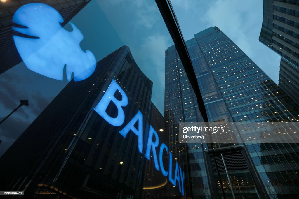 Barclays Plc Headquarters And Bank Branches As Company Considers Dublin For Their EU Base : News Photo