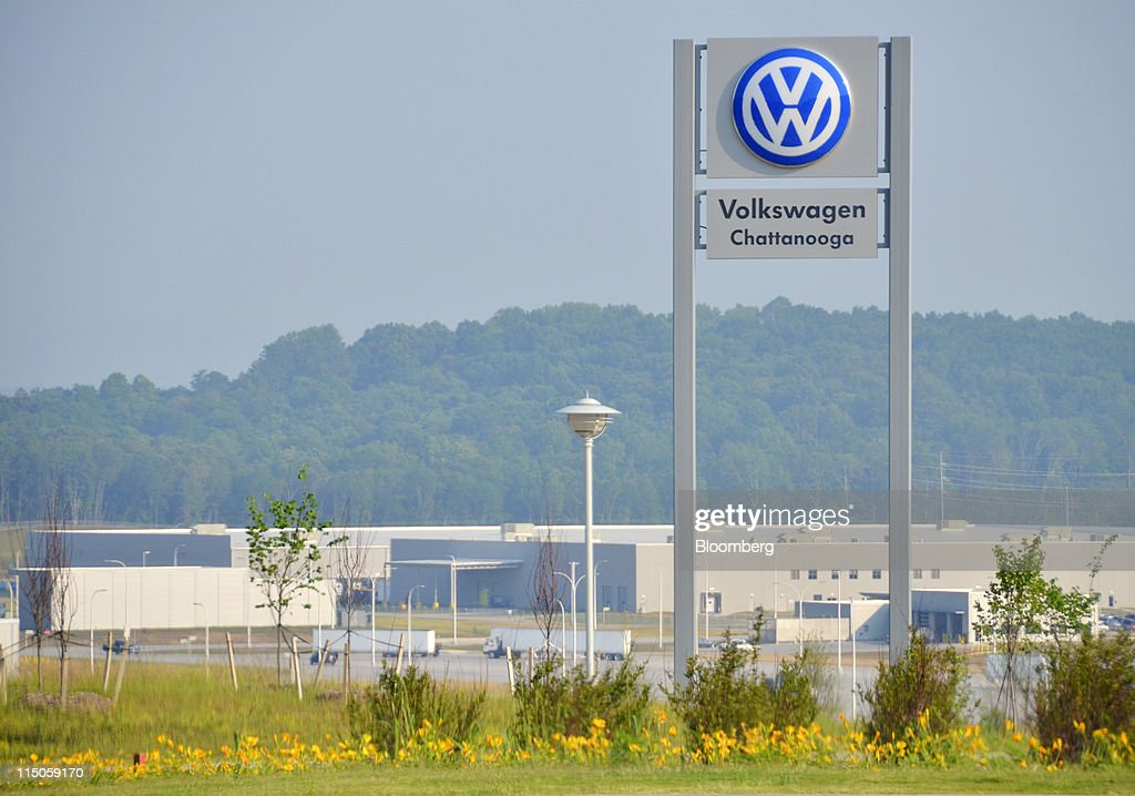 New 2012 VW Passat First Drive And Factory Tour : News Photo