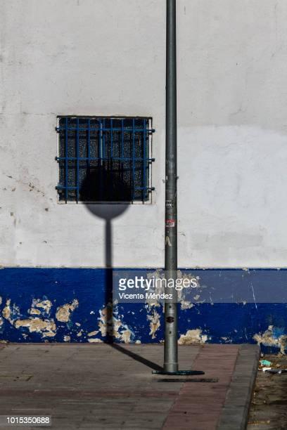 Signal shadow on the wall / window