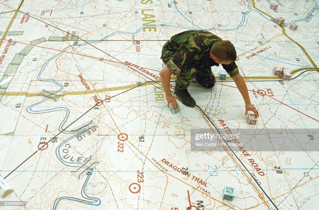 Signaller Martin of 204 Signal Squadron from Osnabruck Germany