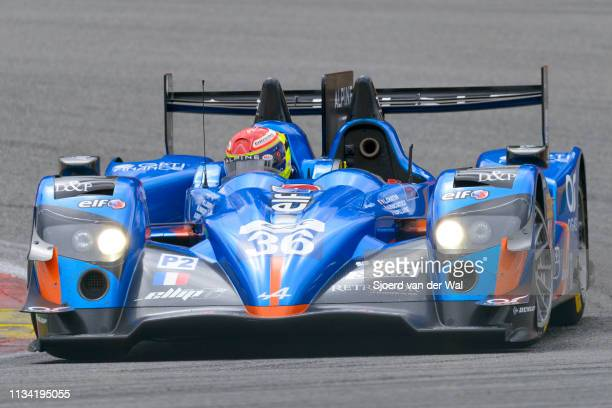 SignatechAlpine Alpine A450b LMP2 race car driven by PANCIATICI N CHATIN PCAPILLAIRE V driving on track during the 6 Hours of SpaFrancorchamps race...