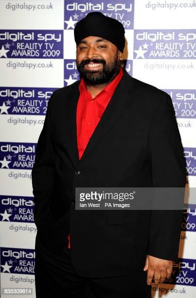 Signature at the Digital Spy Reality TV Awards at the Bloomsbury Ballroom in London