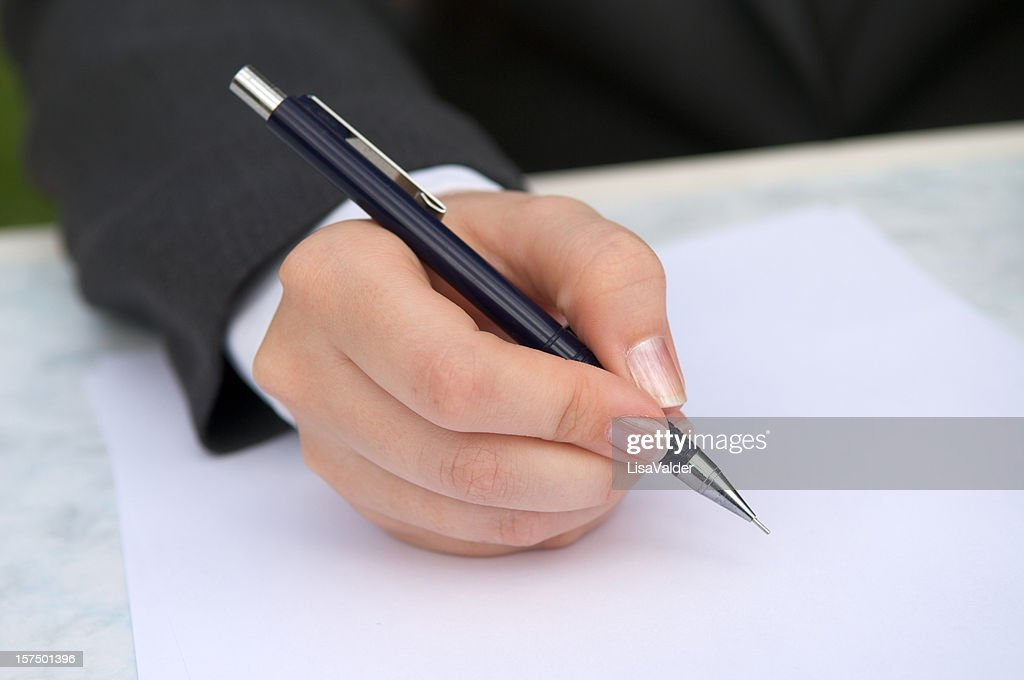 Signature : Stock Photo