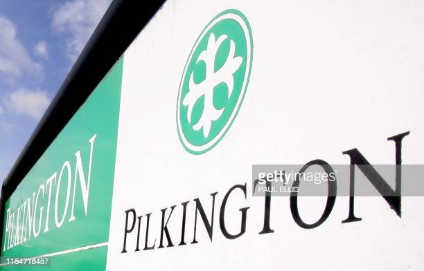 A signboard outside the Pilkington glass factory in St Helens in northwest England is pictured 27 Febraury 2006 The Merseysidebased glass maker ends...