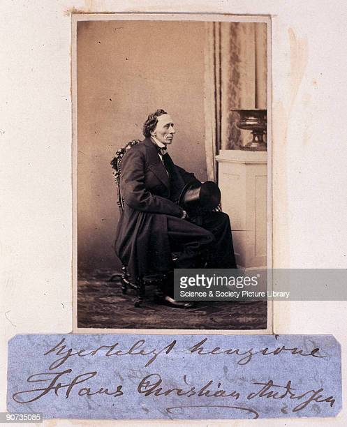 Signed carte de visite Andersen one of the world's greatest children's storytellers was born the son of a poor shoemaker and spent much of his early...