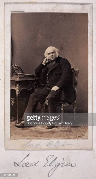 Signed carte-de-visite portrait of James Bruce, Lord Elgin . Elgin was the son of the seventh Earl of Elgin, best known for the 'Elgin marbles'. Lord...