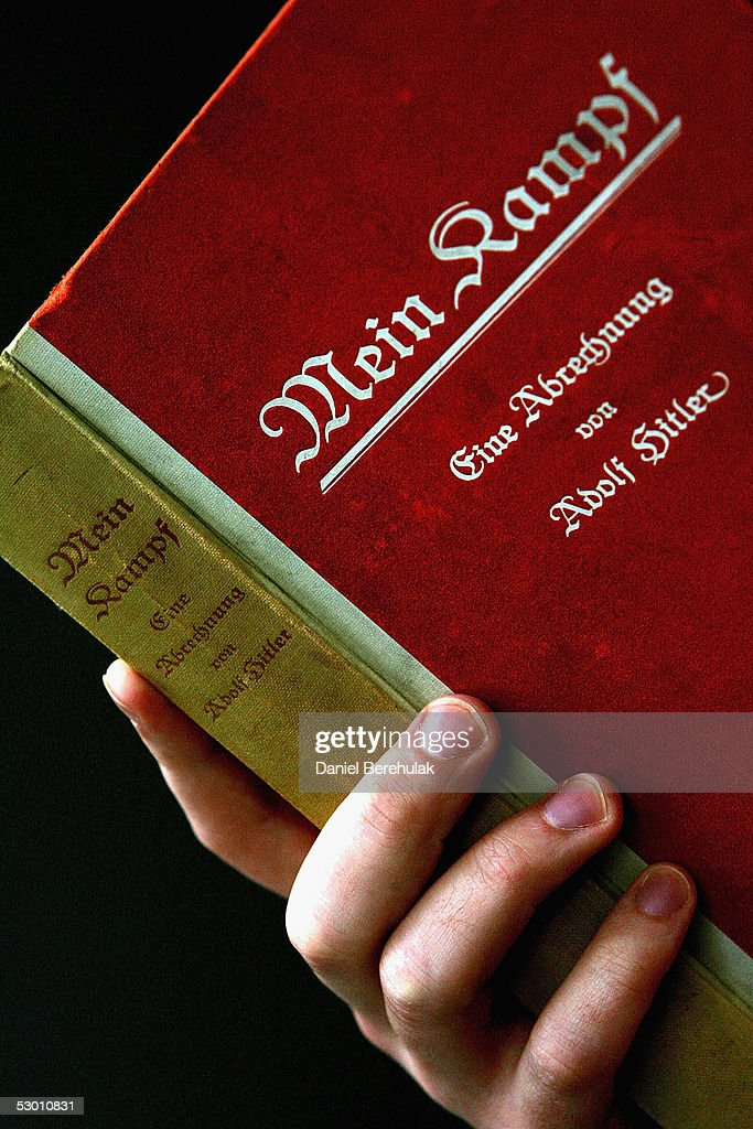 Preview Of A Signed Copy Of Mein Kampf To Auction : News Photo