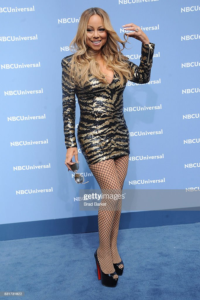 Signer Mariah Carey attends the NBCUniversal 2016 Upfront Presentation on May 16, 2016 in New York City.