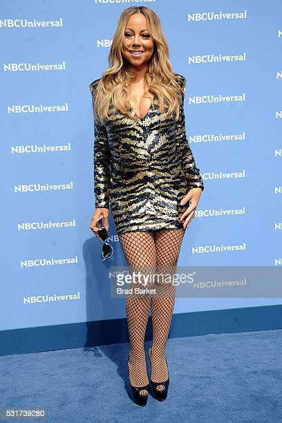 Signer Mariah Carey attends the NBCUniversal 2016 Upfront Presentation on May 16 2016 in New York City