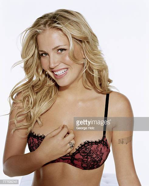 Signer Willa Ford is photographed for FHM Magazine on November 4 2003 in New York City