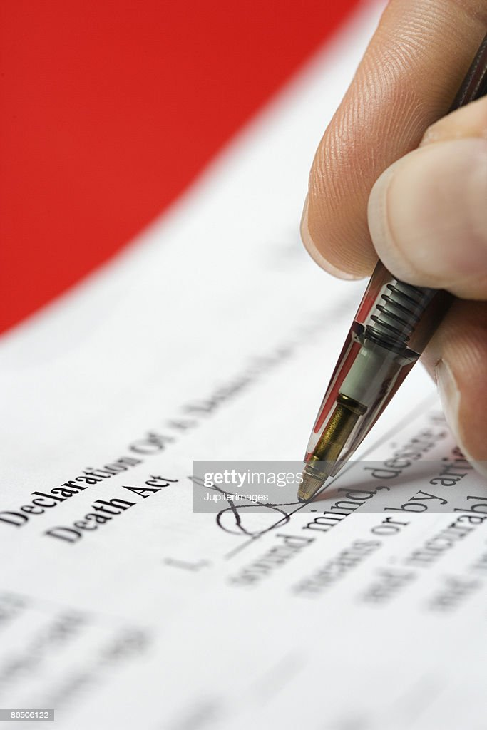 Signing Legal Document Stock Photo Getty Images - Signing legal documents