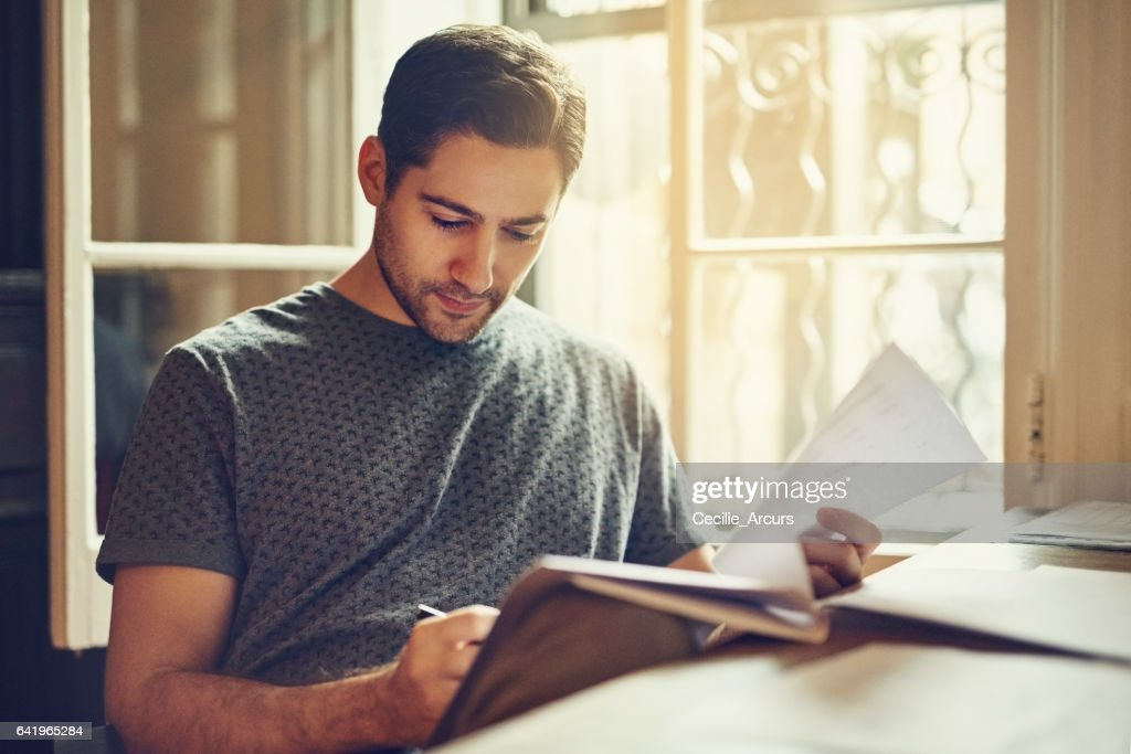 Signing on for another year's  rental : Stock Photo