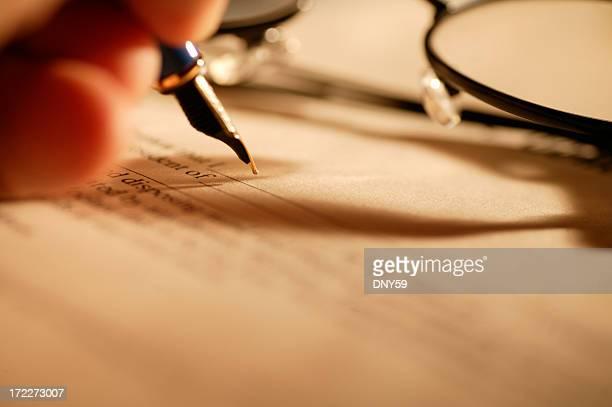 A assinatura