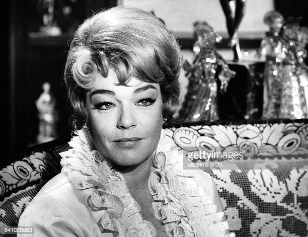 Signoret Simone *Schauspielerin Frankreich Rollenportrait 1964