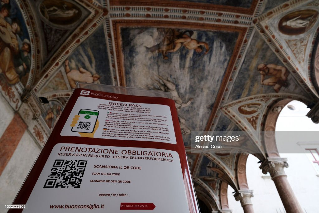 Italy's Green Pass : News Photo