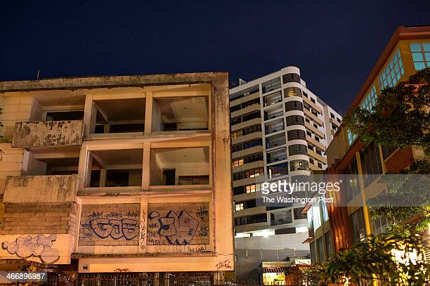 Signs of economic depression are visible in the Condado neighborhood of San Juan Puerto Rico on Tuesday November 19 2013 Burdened by high...