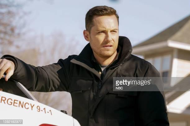 "Signs Of Violence"" Episode 811 -- Pictured: Jesse Lee Soffer as Jay Halstead --"