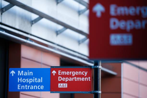 GBR: NHS Staff Work At Royal London Hospital Amid Coronavirus Crisis