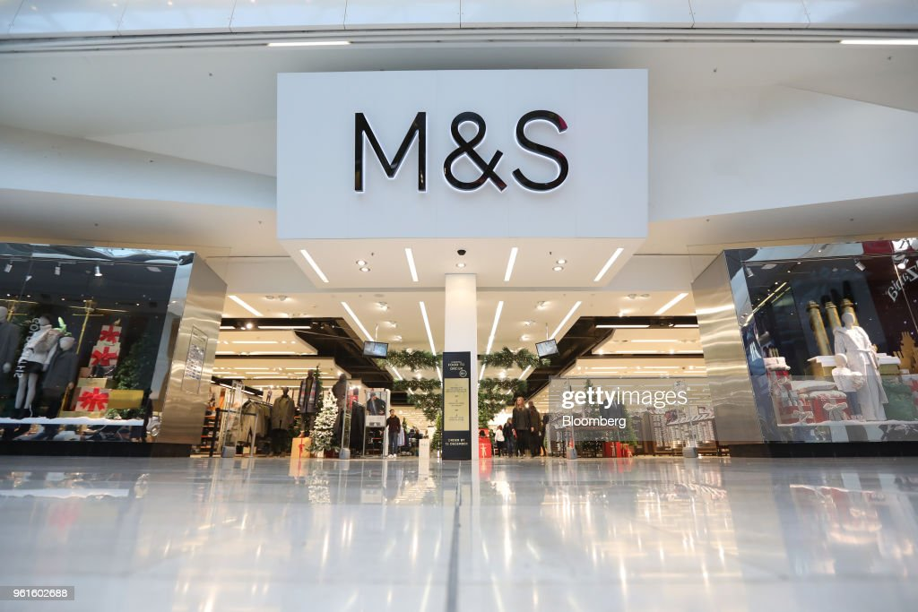 File: Marks & Spencer To Shut A Third Of U.K. Clothing Stores