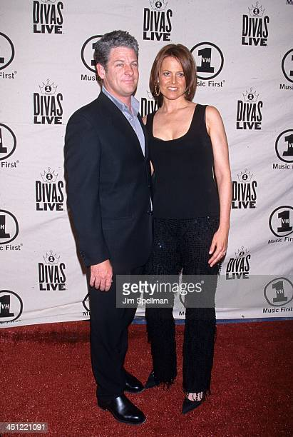 Sigourney Weaver and Husband during VH1 Presents Divas Live The One and Only Aretha Franklin at Radio City Music Hall in New York City New York...