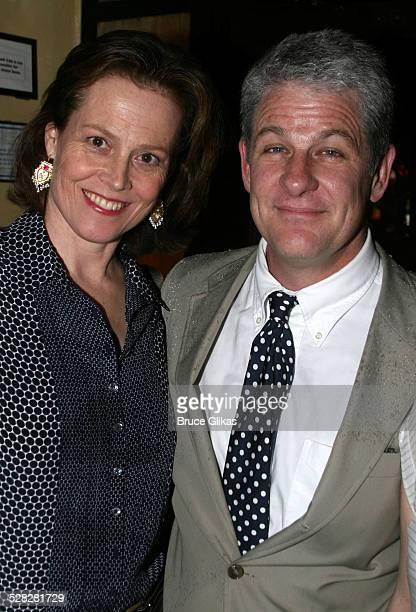 Sigourney Weaver and Jim Simpson director and husband