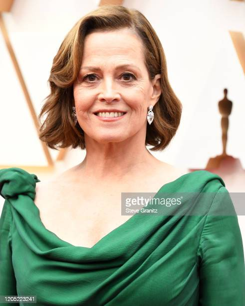 Sigourney Weaver arrives at the 92nd Annual Academy Awards at Hollywood and Highland on February 09, 2020 in Hollywood, California.
