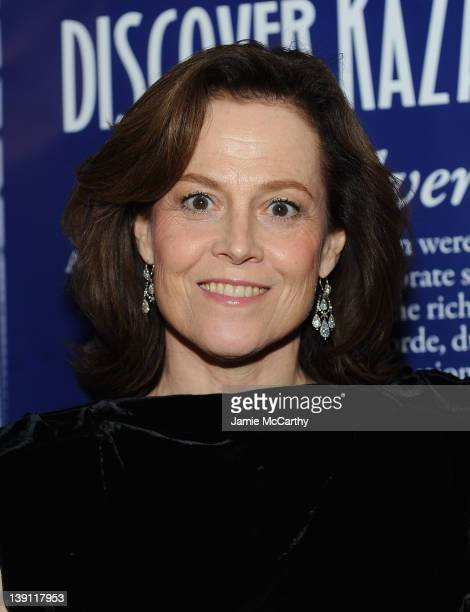 Sigourney Weaver attends the 2012 Nomad's Way gala to benefit 'The Alem Program' at The New York Public Library on February 16 2012 in New York City