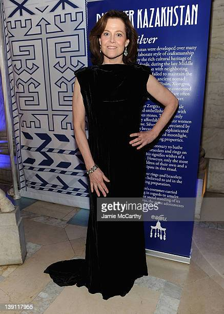 Sigourney Weaver attends the 2012 Nomad's Way gala to benefit The Alem Program at The New York Public Library on February 16 2012 in New York City