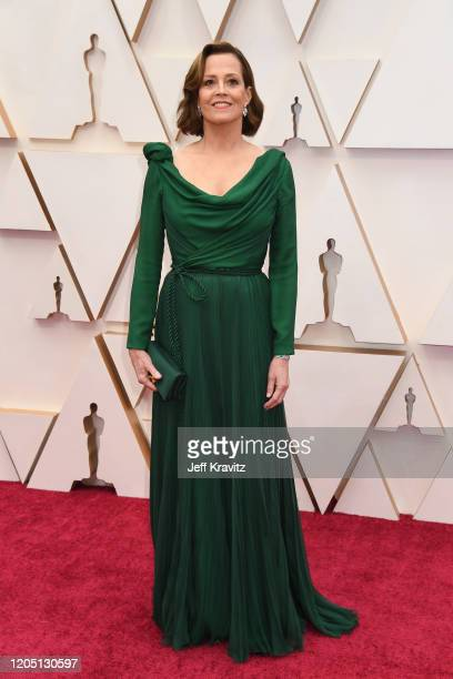 Sigourney Weaver attends the 92nd Annual Academy Awards at Hollywood and Highland on February 09, 2020 in Hollywood, California.