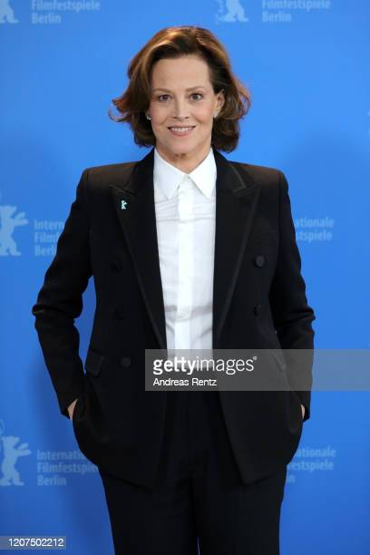 "Sigourney Weaver attends the ""My Salinger Year"" photo call during the 70th Berlinale International Film Festival Berlin at Grand Hyatt Hotel on..."