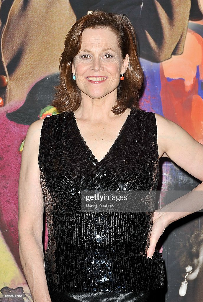 Sigourney Weaver attends the 'Vanya and Sonia and Masha and Spike,' press night at Mitzi E. Newhouse Theater on November 12, 2012 in New York City.