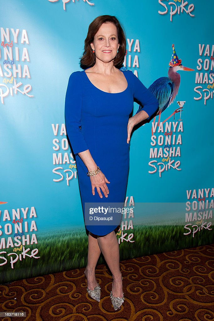 Sigourney Weaver attends the 'Vanya And Sonia And Masha And Spike' Broadway Opening Night After Party at Gotham Hall on March 14, 2013 in New York City.