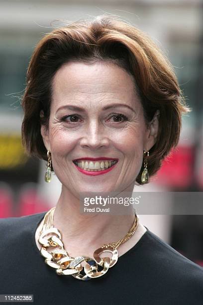 Sigourney Weaver attends UK Premiere of WALL-E at Empire Cinema on July 13, 2008 in London, England.