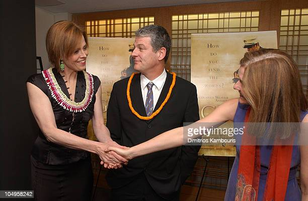 Sigourney Weaver director Jim Simpson and Anne Nelson